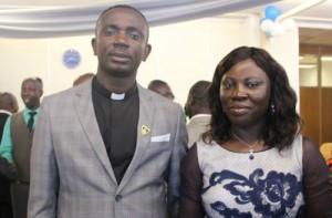 Pastor & mrs Frank